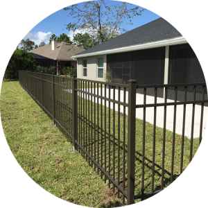 Wood, Vinyl, Chain Link, Aluminum Fencing for Commercial